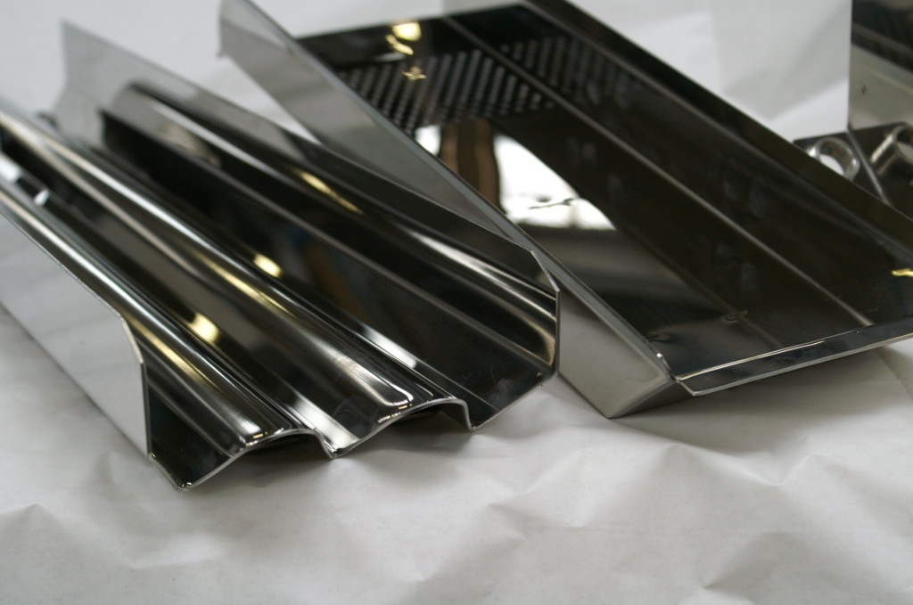 Stainless steel laser cutting - products