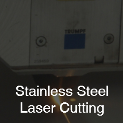 stainless steel laser cutting services from CH Barnett