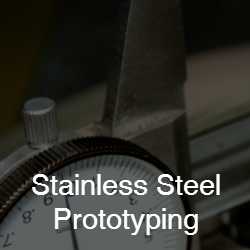 stainless steel prototyping services from CH Barnett