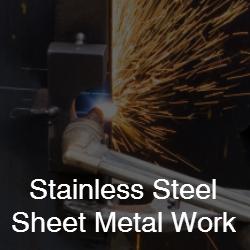 stainless steel sheet metal work Service from CH Barnett